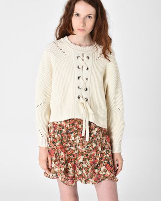LACY textured jumper