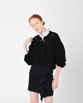 LALEY lace-up jumper