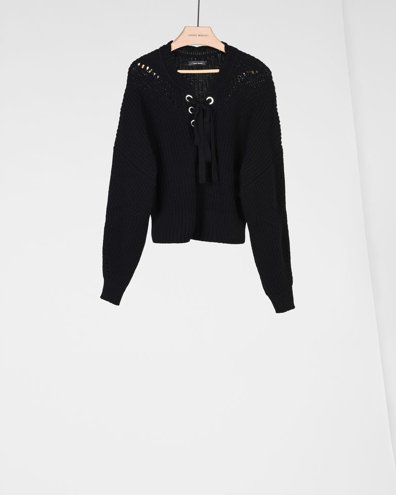 LALEY lace-up jumper ISABEL MARANT