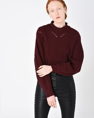 LANE short knit sweater