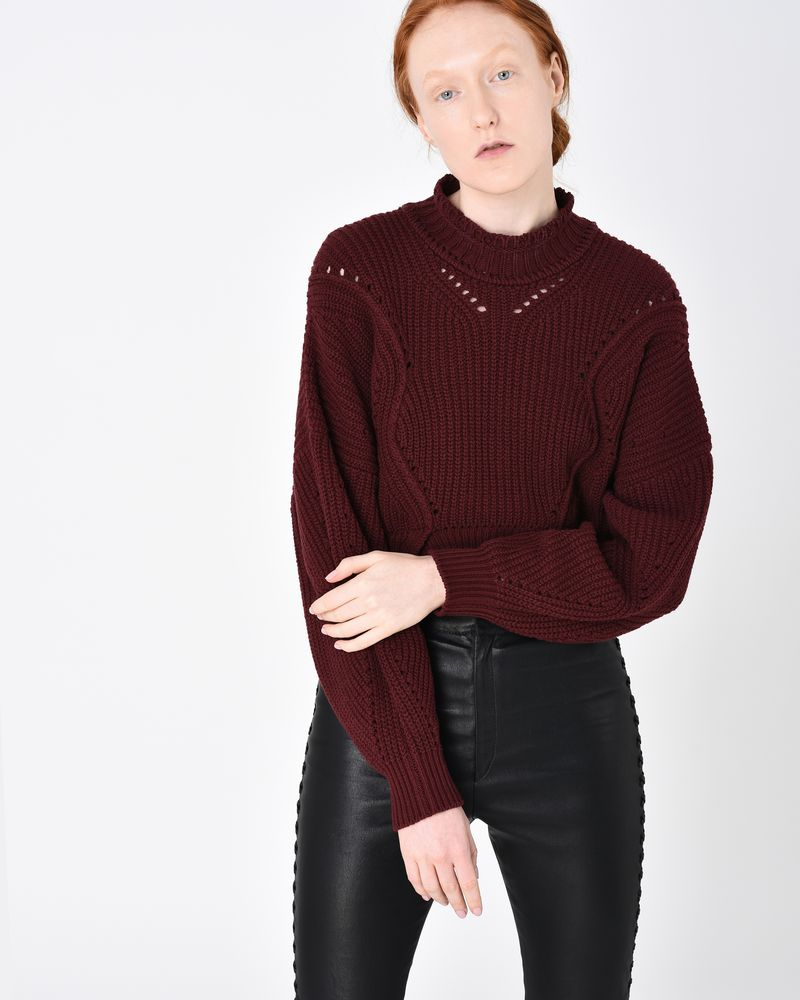 LANE short knit jumper ISABEL MARANT