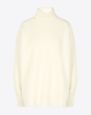 MAISON MARGIELA Oversized turtleneck sweater Long sleeve sweater D f