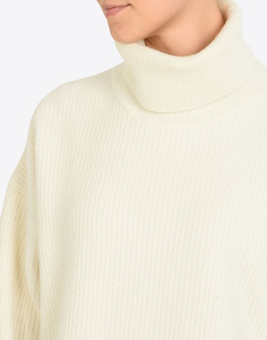MAISON MARGIELA Oversized turtleneck sweater Long sleeve sweater D a