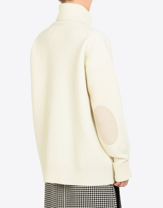 MAISON MARGIELA Oversized turtleneck sweater Long sleeve sweater D e