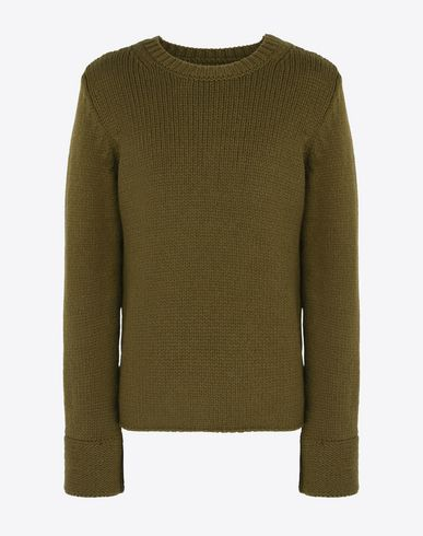 MAISON MARGIELA Crewneck sweater U Wool blend crewneck sweater f