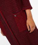 KARL LAGERFELD Long Wool Bouclé Cardigan 8_e