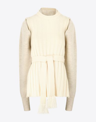 MAISON MARGIELA 2-piece wool cardigan  Twin set D f