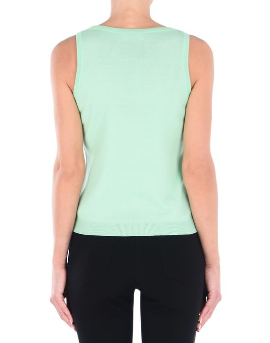 Sleeveless sweater Woman MOSCHINO