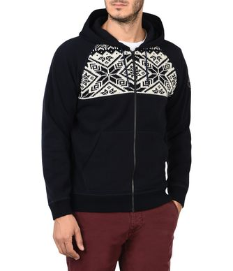 NAPAPIJRI DANVERS MAN ZIP SWEATSHIRT,DARK BLUE