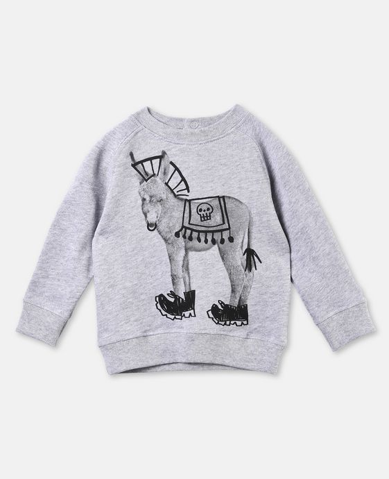 Billy Donkey Print Jumper