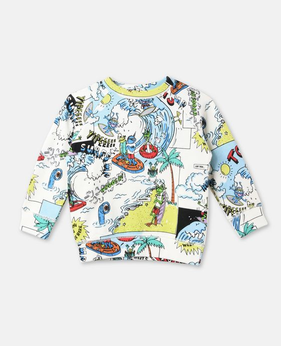 Billy All-Over Print Sweater
