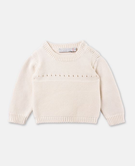 Ponticello White Bunny Jumper