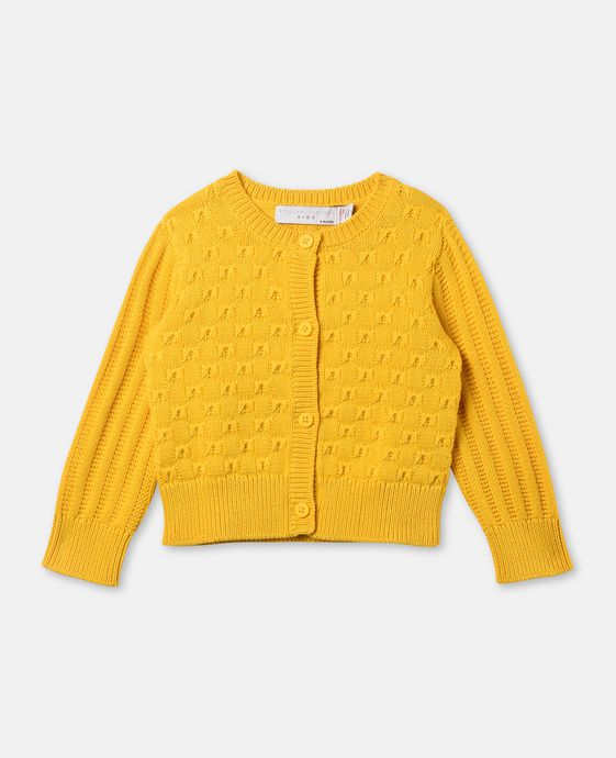 Emerie Yellow Bows Cardigan