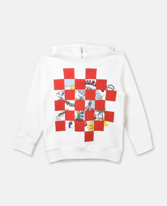 Heath Visitors Print Hoodie