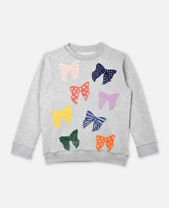 Betty Bows Print Jumper