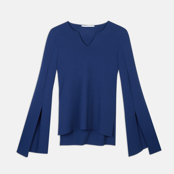 Sapphire Compact Knit Top