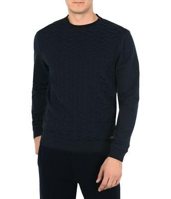 NAPAPIJRI DECE MAN CREWNECK SWEATER,DARK BLUE