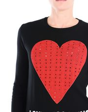 LOVE MOSCHINO Long sleeve sweater Woman e