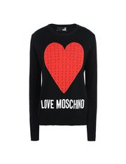 LOVE MOSCHINO Long sleeve sweater Woman f