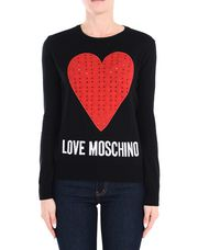 LOVE MOSCHINO Long sleeve sweater Woman r