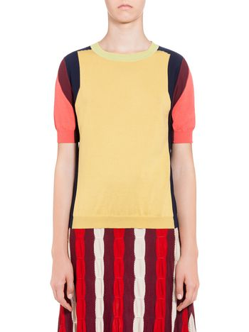 Marni Inlayed knit in cotton Woman