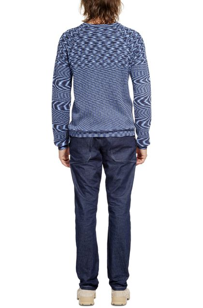 MISSONI Crew-neck Blue Man - Front
