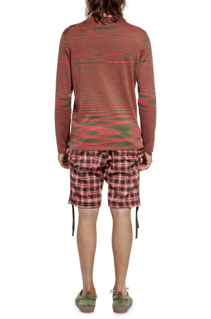 MISSONI Crew-neck Brick red Man - Front