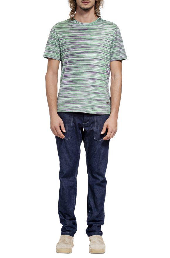 MISSONI Men's T-Shirts Man, Frontal view
