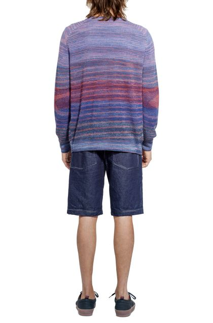 MISSONI Cardigan Purple Man - Front