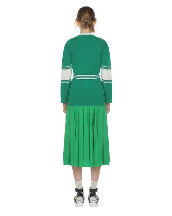 REDValentino Wollpullover mit Blockfarben-Muster