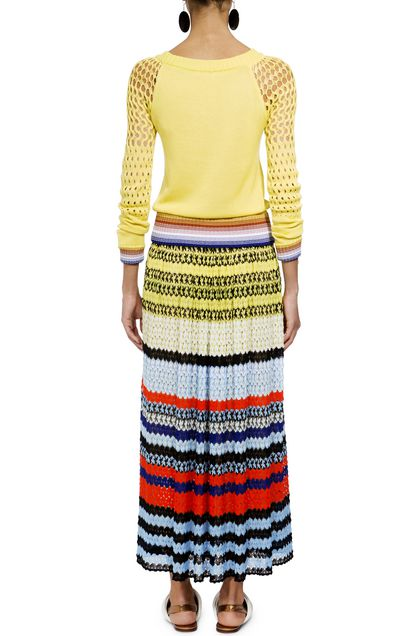 MISSONI Pullover Yellow Woman - Front