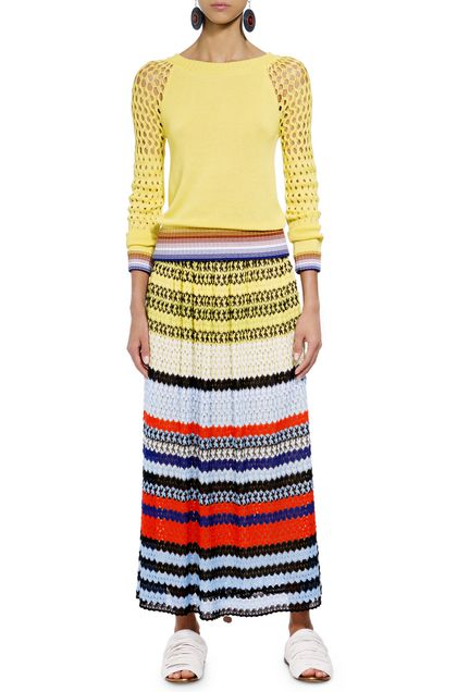 MISSONI Pullover Yellow Woman - Back