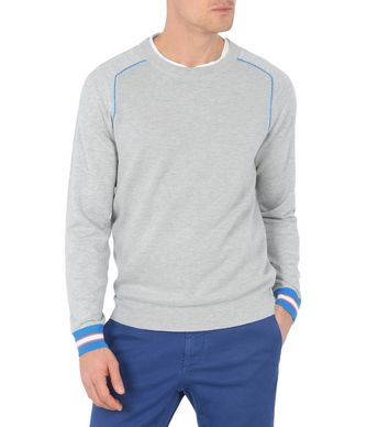 NAPAPIJRI DOLBEAU MAN SWEATER,LIGHT GREY