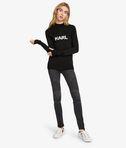 KARL LAGERFELD Ikonik Karl Fitted Sweater 8_d