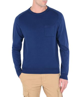 NAPAPIJRI DORI MAN CREWNECK SWEATER,DARK BLUE
