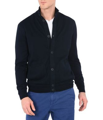 NAPAPIJRI DEER MAN CARDIGAN,DARK BLUE