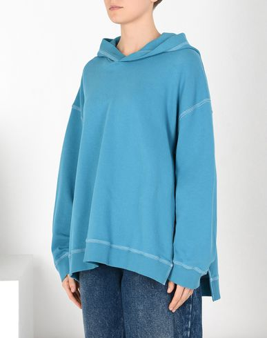 MM6 MAISON MARGIELA Hooded sweatshirt Woman Oversized cotton hoodie f