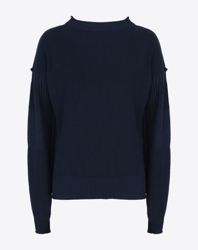 MAISON MARGIELA Long sleeve sweater U Deconstructed cotton sweater f