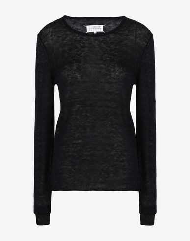 MAISON MARGIELA Long sleeve sweater D Mohair-blend sweater f