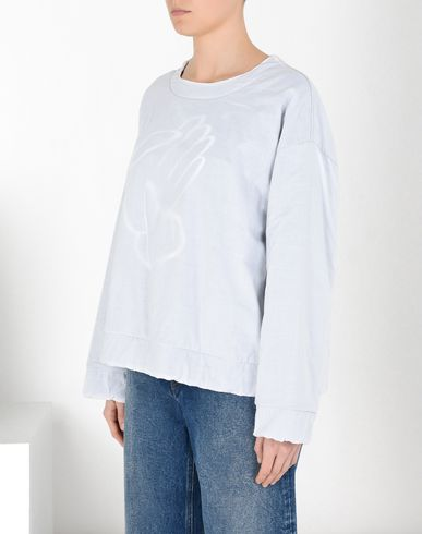 "MM6 MAISON MARGIELA Sweatshirt Woman ""6"" sweatshirt f"