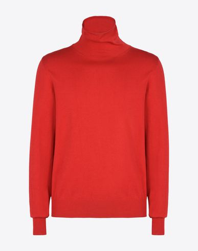 MAISON MARGIELA High neck sweater U Cotton blend turtleneck f