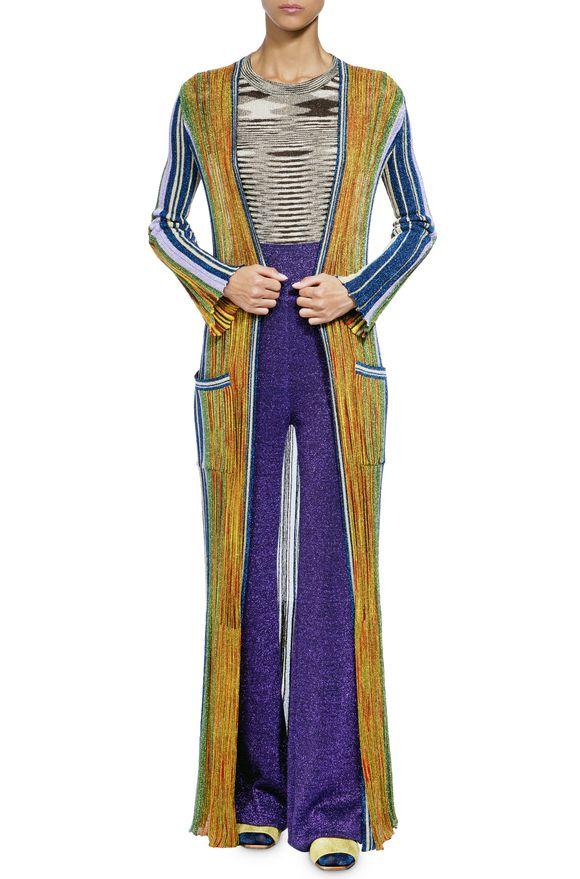 SWEATERS - Long cardigan Missoni
