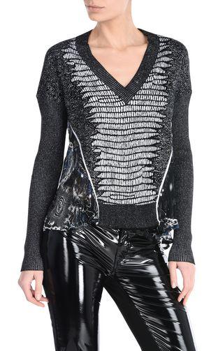 JUST CAVALLI Cardigan D Side-fastening pullover f