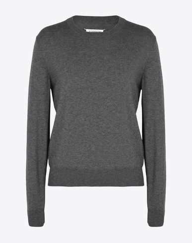 MAISON MARGIELA Crewneck sweater U Cotton-wool blend sweater f
