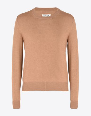 MAISON MARGIELA Long sleeve jumper U Cotton-wool blend sweater f
