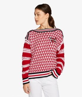 KARL LAGERFELD CAPTAIN KARL SWEATER