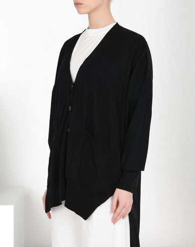 MM6 MAISON MARGIELA Cardigan Woman Asymmetric cardigan f