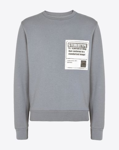 MAISON MARGIELA Sweatshirt U Cotton 'Stereotype' sweatshirt f