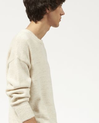 ISABEL MARANT LONG SLEEVE SWEATER Man SAMUEL knit sweater  r