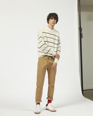 OBLI striped jumper